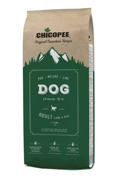 Чикопи ПНЛ Эдалт Дог Ягненок/ Chicopee PNL Adult Dog Lamb & Rice 20 кг - фото 11610