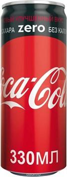 Кока-кола ZERO ж/б 0,33л*24 - фото 11678