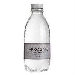 Вода Harrogate Sparkling Харрогейт 0,33 л. газ. ПЭТ - фото 11736