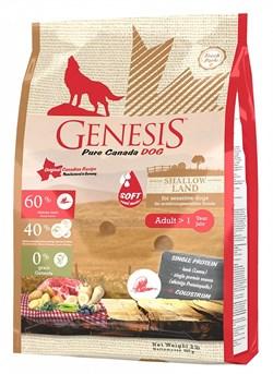 Genesis Pure Canada Shallow Land сухой корм для взрослых собак с ягненком - фото 11894