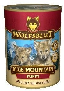 Wolfsblut (Волчья кровь) Консервы 395гр. - Blue Mauntain Puppy (Голубая гора консервы для щенков) - фото 11916