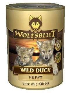 Wolfsblut (Волчья кровь) Консервы 395гр. - Wild Duck Puppy (Дикая утка консервы для щенков) - фото 11919