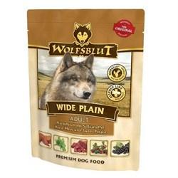 Wolfsblut (Волчья кровь) Пауч 300гр. - Wide Plain Adult (Широкая равнина пауч для взрослых) - фото 11925