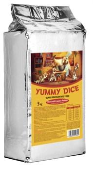 Yummy Dice (Ями Дайс) 3 кг - Сухой корм для собак Duck Adult (Утка с бататом для взрослых собак) - фото 11995
