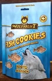 Wolfsblut Fish Snacks 150 гр. - Fish Cookies Seefisch (Печенье из морской рыбы)