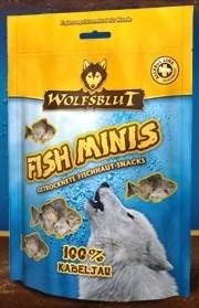 Wolfsblut Fish Snacks 100 гр. - Fish Minis Kabeljau (Мини Печенье из трески)