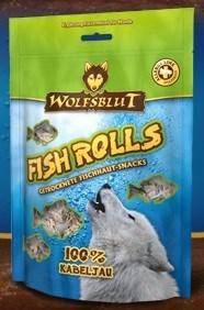 Wolfsblut Fish Snacks 100 гр. - Fish Rolls Kabeljau (Роллы из трески)