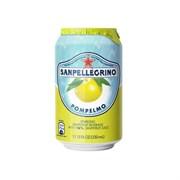 Напиток безалкогольный газированный сокосодержащий Sanpellegrino Pompelmo (Санпеллегрино грейпфрут) 0,33 л (банка) 6 штук