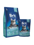 Brit Premium Cat Sensitive д/кошек с чувств. пищеварением с ягненком
