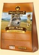 Wolfsblut - Сухой корм для пожилых собак Wide Plain Senior (Широкая равнина с кониной, бататом, зеленью и ягодами).