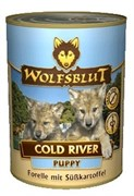 Wolfsblut (Волчья кровь) Консервы 395гр. - Cold River Puppy (Холодная Река консервы для щенков)