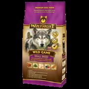 Wolfsblut Wild Game Small Breed (Дикая игра) - Сухой корм для мелких пород с куропаткой, диким голубем, уткой, страусом и бататом. Белок: 31%, Жир: 15%