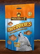Wolfsblut Fish Snacks 150 гр. - Fish Cookies Laches (Печенье из лосося)