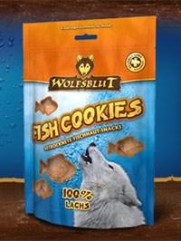 Wolfsblut Fish Snacks 150 гр. - Fish Cookies Laches (Печенье из лосося)