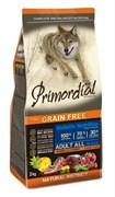 PRIMORDIAL Корм сух 12кг для собак б/зерн. тунец ягненок