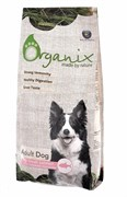 Organix для собак со свежим лососем и рисом, Adult Dog Salmon