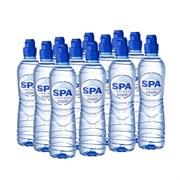 SPA Reine Минеральная природная столовая вода негазированная 0,5л*12шт (ПЭТ-бутылка с дозатором)
