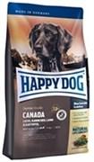 """HAPPY DOG """"КАНАДА"""" ДЛЯ ЧУВСТВИТЕЛЬНЫХ СОБАК: ЛОСОСЬ, КРОЛИК, ЯГНЕНОК, CANADA"""