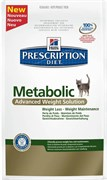 ХИЛЛс ДИЕТА сух.д/кошек Metabolic для коррекции веса Prescription Diet™ Metabolic Feline