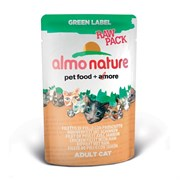 "ALMO NATURE GREEN LABEL кон. д/кошек ""Куриная Грудка"" 55гр*24 (пауч)"