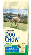 "DOG CHOW ""ADULT LARGE BREED"" СУХОЙ ДЛЯ СОБАК КРУПНЫХ ПОРОД СТАРШЕ 2 ЛЕТ ИНДЕЙКА"