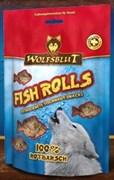 Wolfsblut Fish Snacks 100 гр. - Fish Rolls Rotbarsch (Роллы из морского окуня)